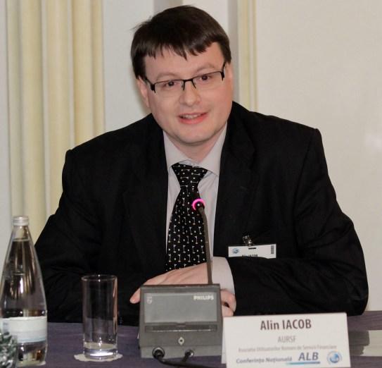 Alin Iacob speaker la Conferinta ALB Romania