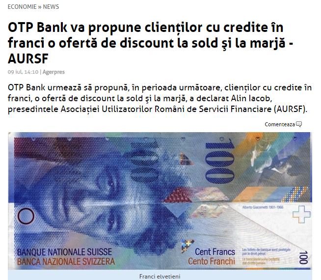 2015 07 09 OTP propune oferta CHF