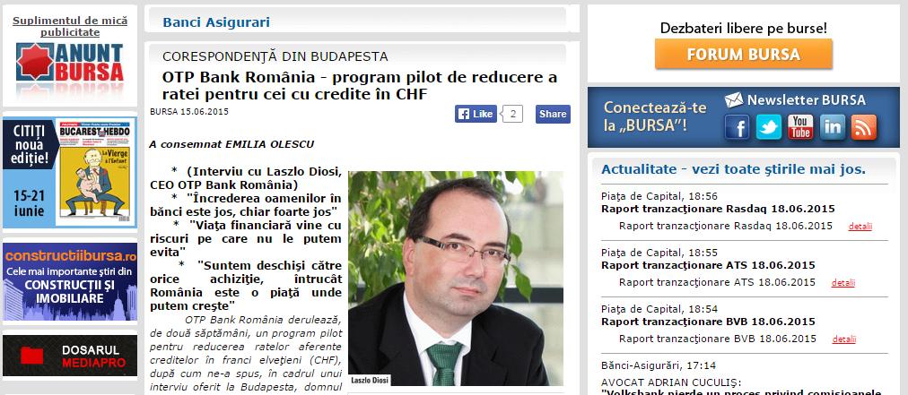 OTP program pilot